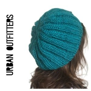 5 for $25: Slouchy Teal Knit Beanie